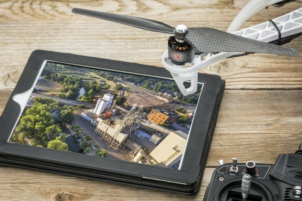 ipad-and-drone